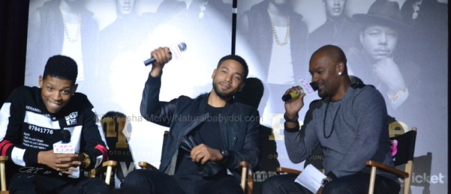 V103 Album Signing & Private Q&A With Empire Stars Jussie Smollett & Bryshere Gray
