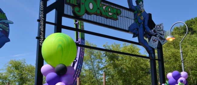 The Joker Chaos Coaster Opens At Six Flags Over Georgia