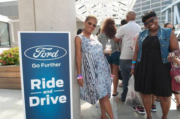 Ford Ride & Drive Experience, Ford Neighborhood Awards, Steve Harvey, Ford