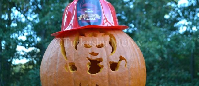 Pumpkin Carving Fun With Mario