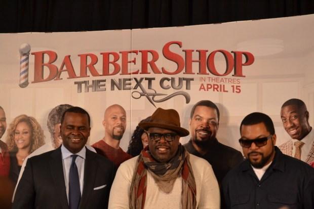 """""""Barbershop: The Next Cut"""" """"Creme of Nature"""" """"Natural Hair"""" """"Atlanta"""""""