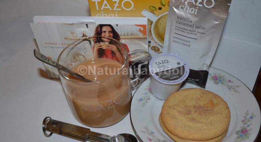 """Starbucks"" ""Tazo"" ""Tazo Chai"" ""Padma Lakshmi"""