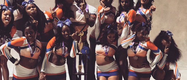 Savannah State University Cheerleaders Make History