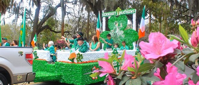 Savannah's 2017 St. Patrick's Day Celebration