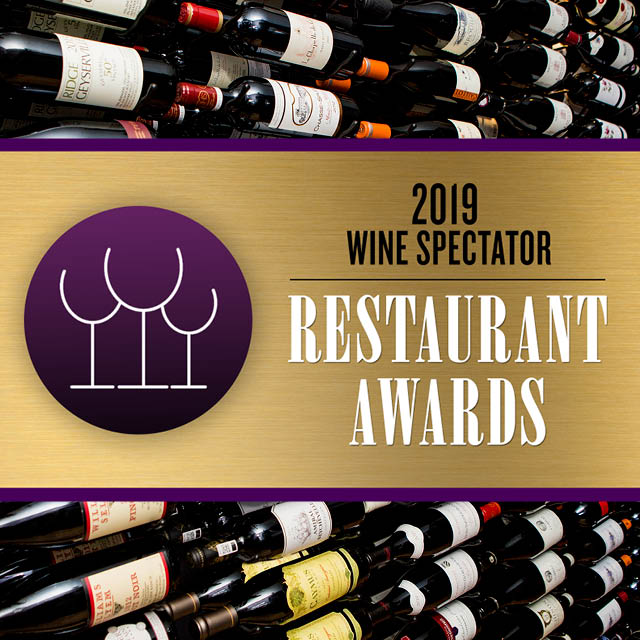 Georgia Honored In Wine Spectator's 2019 Restaurant Awards