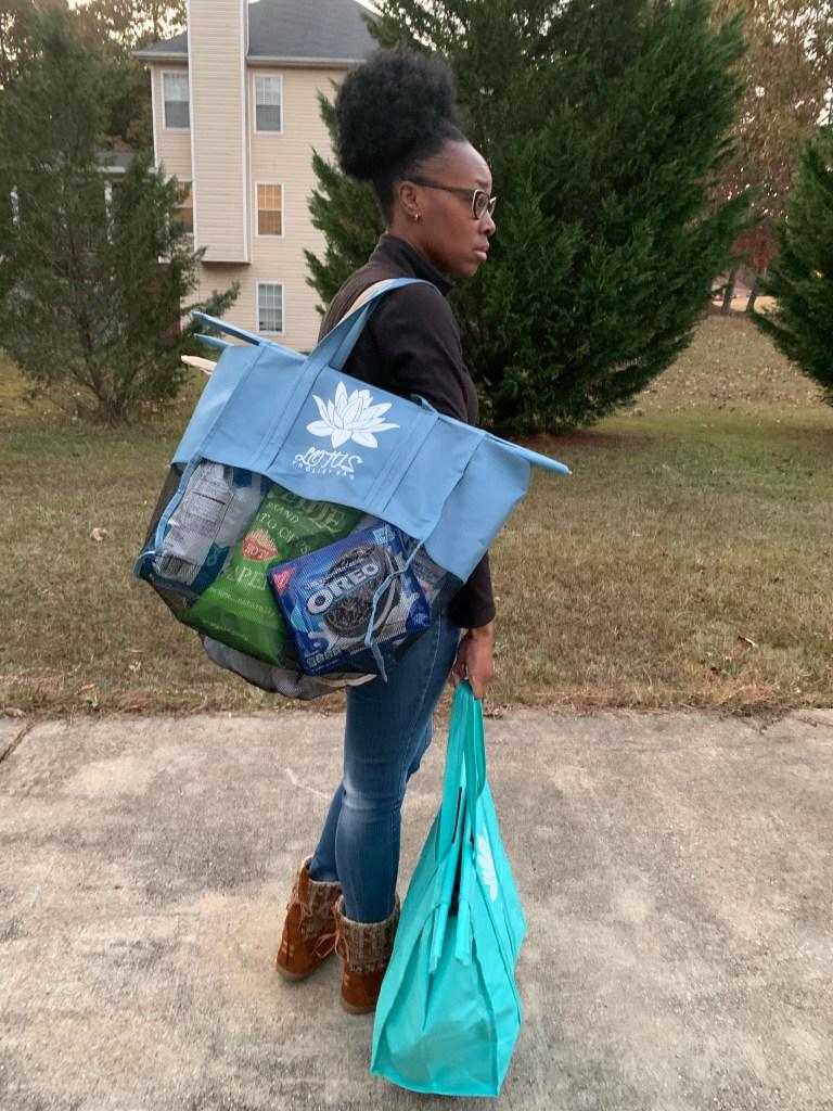 Green Living Lotus Trolley Bags