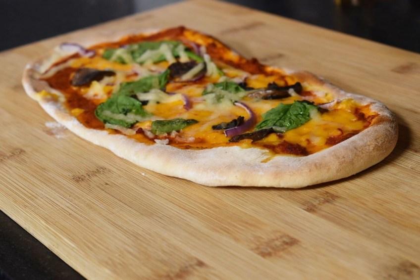 Suga's Pesto & Feta Pimento Cheese Flatbread