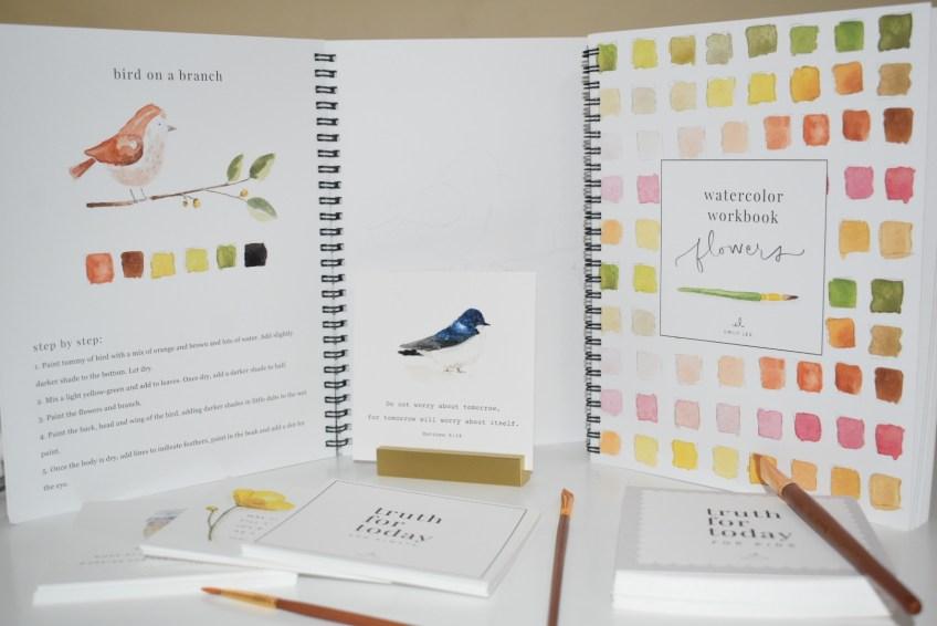 Emily Lex Watercolor workbook