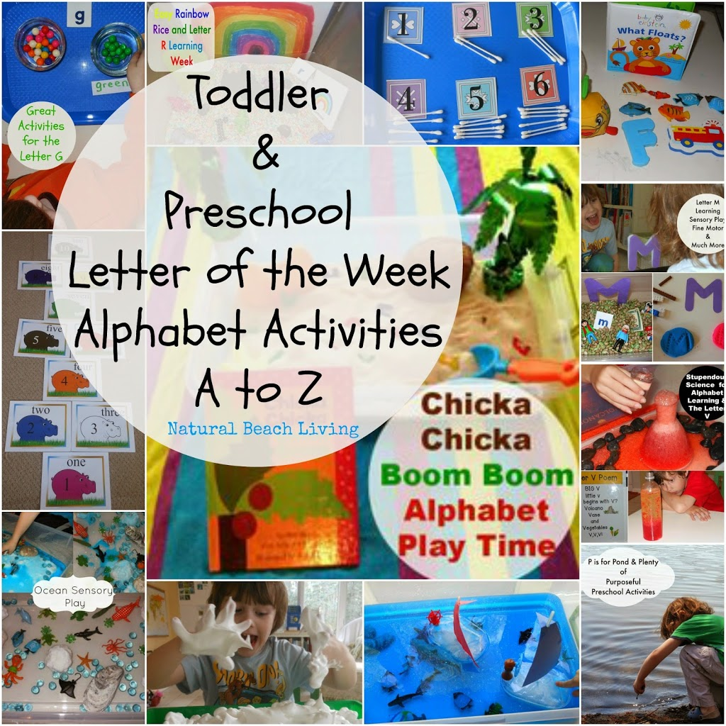 Learning The Alphabet With Activities And Crafts From A To Z