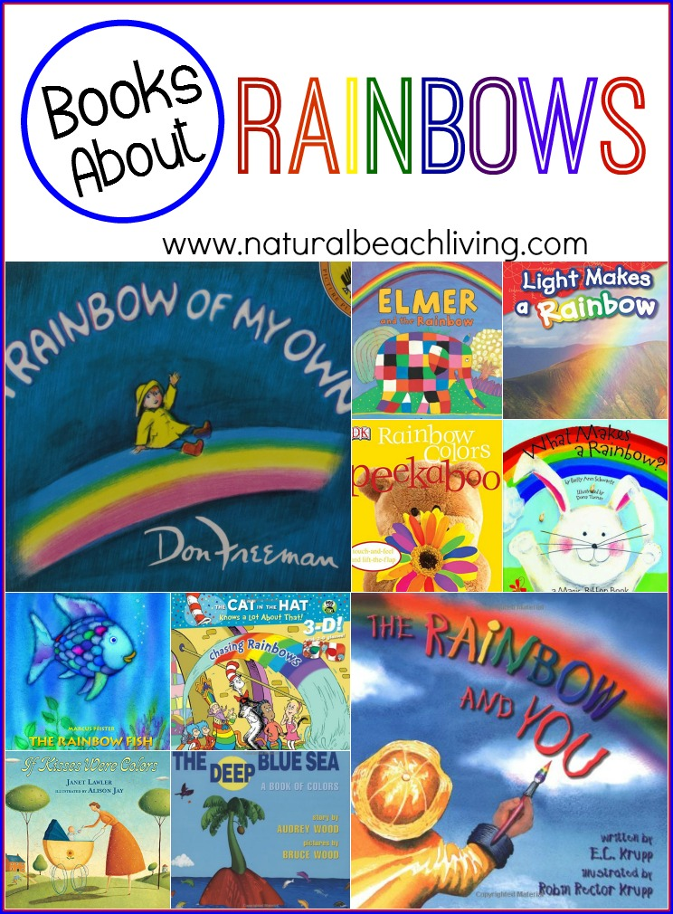 10 Awesome Books About Rainbows Natural Beach Living