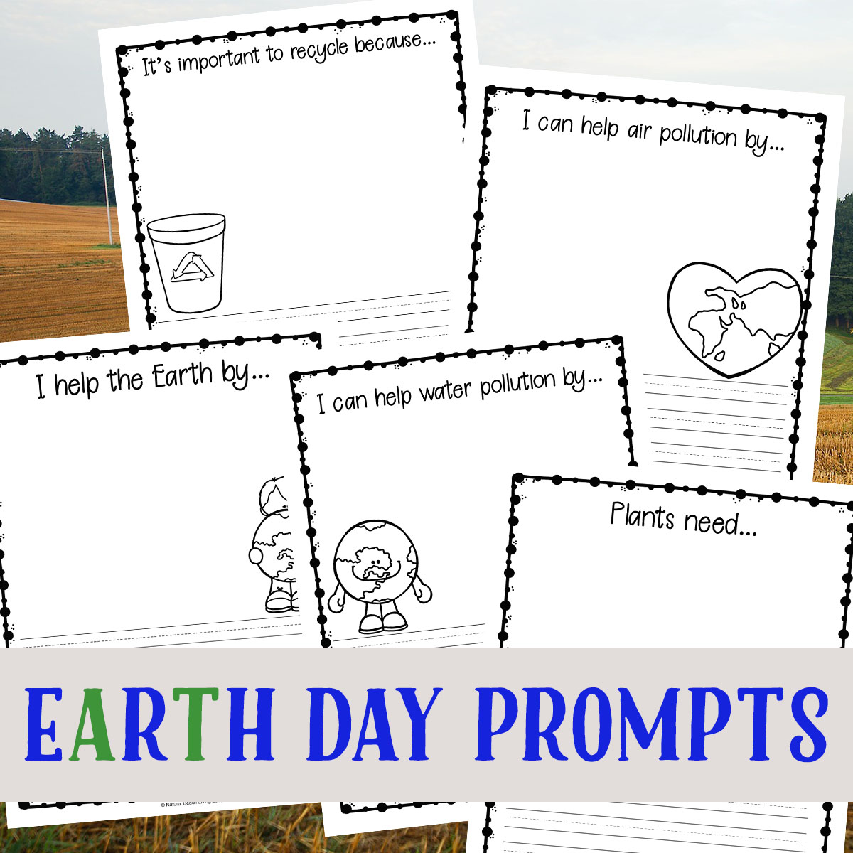 Earth Day Writing Prompts For Kids