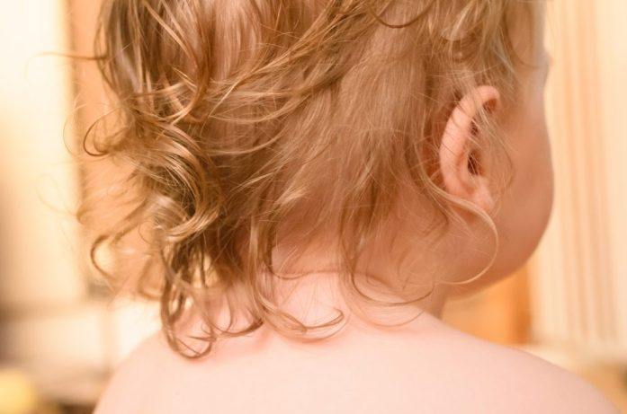 My toddler's wild hair