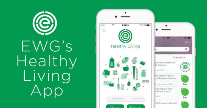 EWG's Healthy Living App