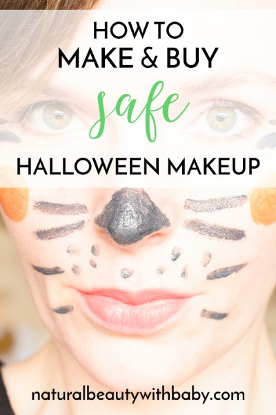 How to make and buy safe Halloween makeup
