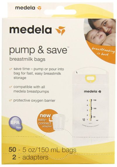 Medela Pump & Save Breast Milk Bags