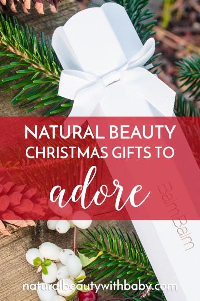 Treat yourself or your loved ones without overspending with these wonderful natural beauty Christmas gift picks.