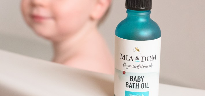 Mia & Dom Organic Baby Bath Oil