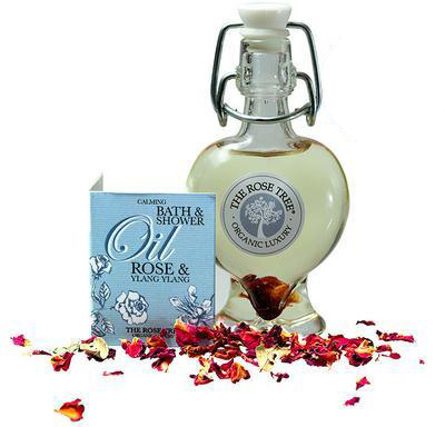 The Rose Tree Calming Bath and Shower Oil