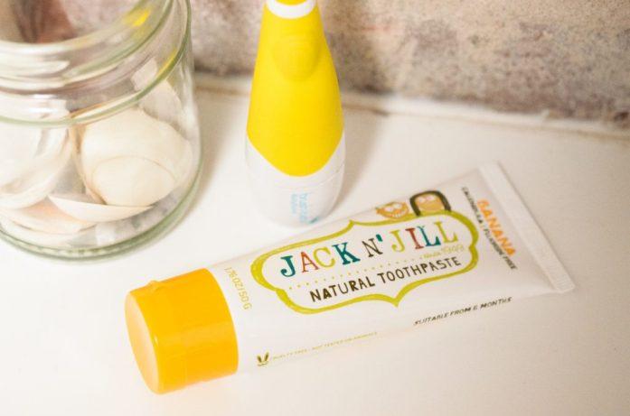 Jack N' Jill Toothpaste in Banana