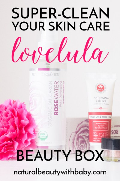 Super clean your skin care with a LoveLula natural beauty subscription box. Read my full review of the LoveLula May 2018 Beauty Box now!
