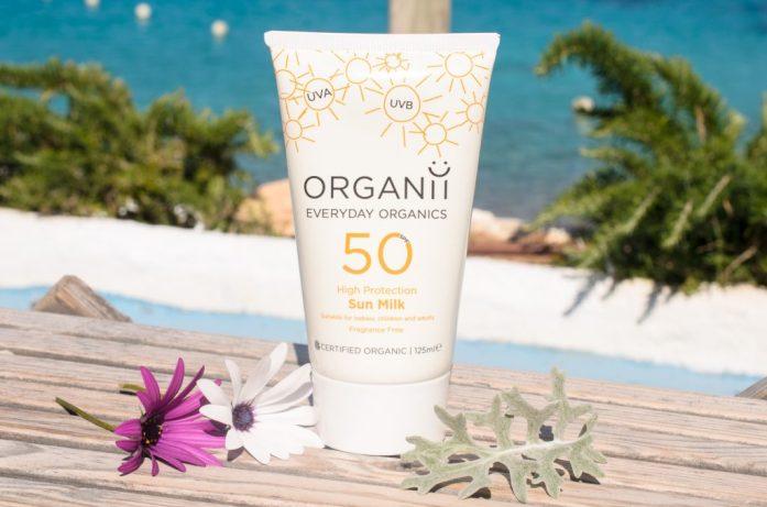 Organii SPF 50 Sun Milk