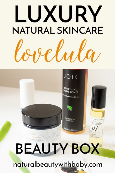 The LoveLula June 2018 Beauty Box contains several luxury natural beauty items. Read my full review of this month's box!
