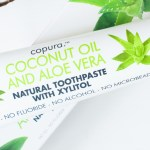 Copura Coconut and Aloe Toothpaste