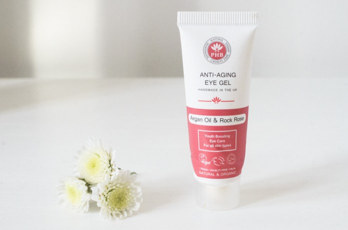 PHB Anti-Aging Eye Gel with Argan & Rock Rose