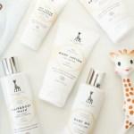 Sophie the Giraffe Baby skincare