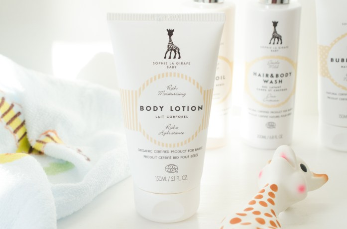 Sophie the Giraffe Baby Body Lotion
