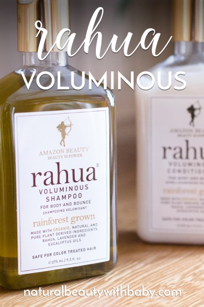 Are Rahua Voluminous Shampoo & Conditioner worth the large price tag? Find out in my review of this beautiful Amazonian duo! #naturalhaircare