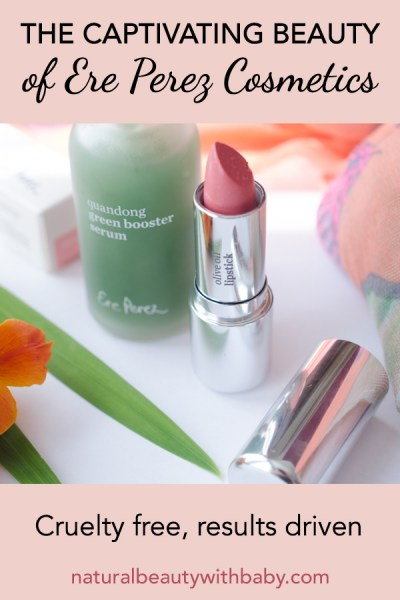 Ere Perez beauty creates stunning natural and cruelty-free cosmetics. Learn about this Australian natural beauty brand plus its Quandong Serum and Olive Oil lipstick.