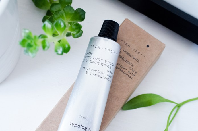 Typology Face Moisturiser with 9 Ingredients