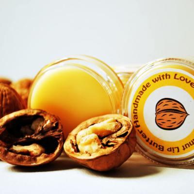 Creamy Walnut Lip Butter