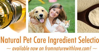 Introducing The Natural Pet Care Section at From Nature With Love