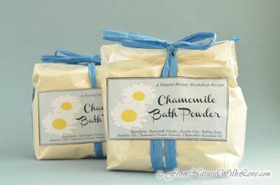 Chamomile Bath Powder