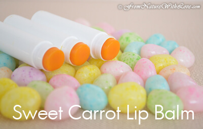 Sweet Carrot Lip Balm