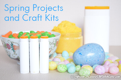 Spring Projects and Craft Kits for DIY Bath & Body