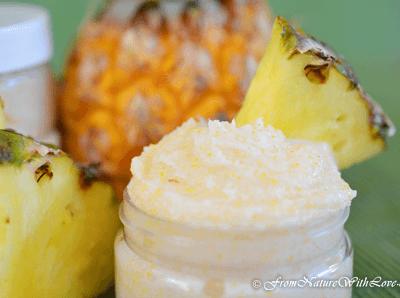 Creamy Pina Colada Sugar Scrub