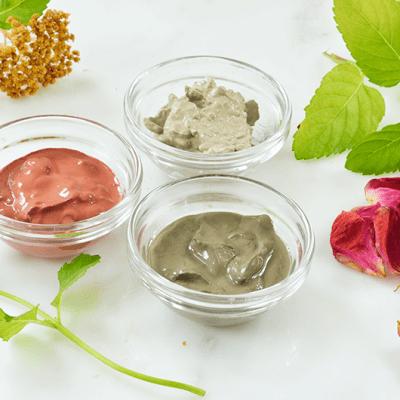 Clay Facial Masks – Three Ways