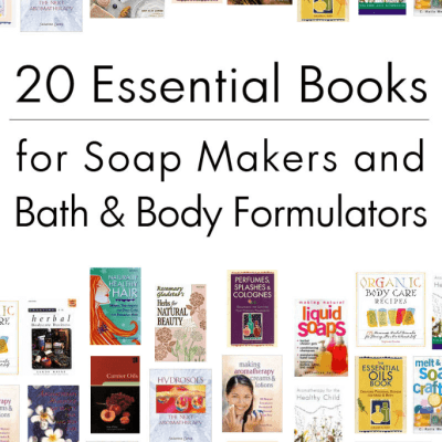 20 Essential Books for Bath & Body Formulators