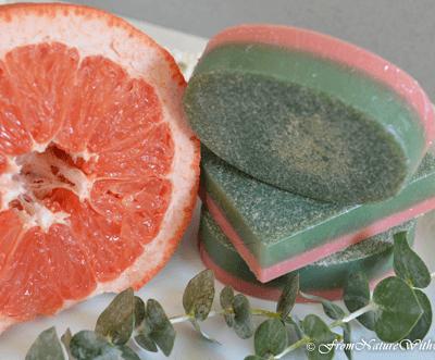 Grapefruit Eucalyptus Soap Bars