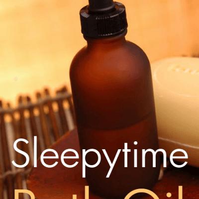 Sleepytime Bath Oil