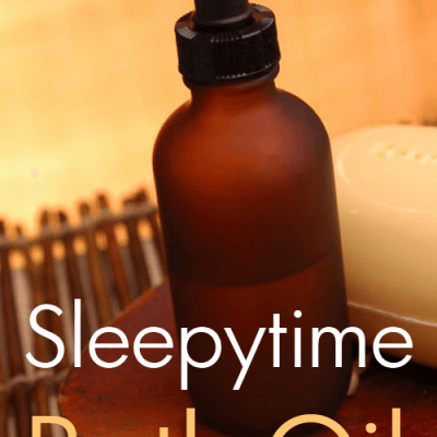 Sleepytime Bath Oil