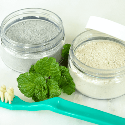 Sweet Spearmint Tooth Powder – Two Ways