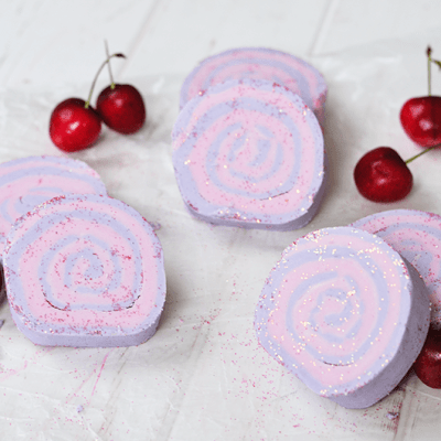 Winter Cherry Bubble Bath Bars