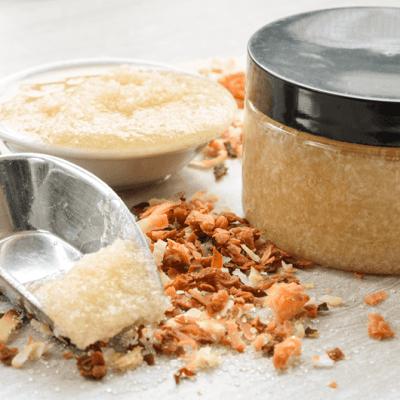 Toasted Coconut Sugar Scrub