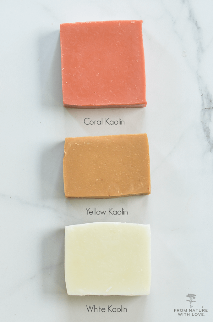Using Cosmetic Clays in Cold Process Soap