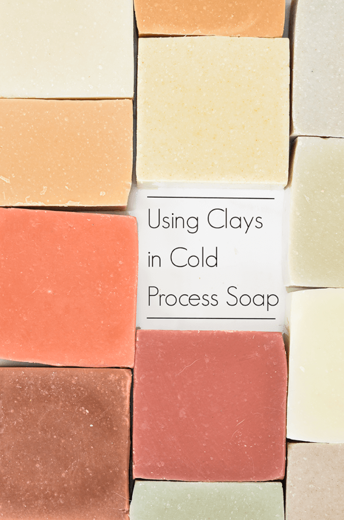 A Visual Guide to Using Cosmetic Clays in Cold Process Soap