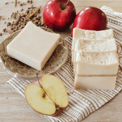 Hot Process Apple Cider Soap